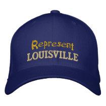 Represent Louisville Cap