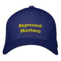 Represent Montana Cap