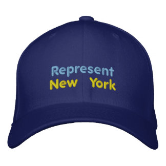 Represent New York Cap Embroidered Hats