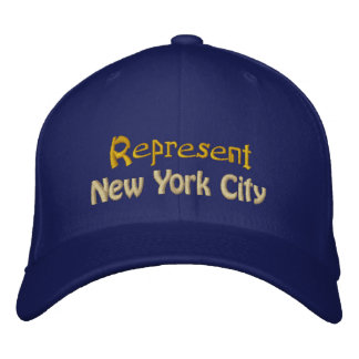 Represent New York City Cap Embroidered Hats