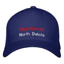 Represent North Dakota Cap