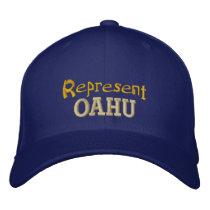 Represent Oahu Cap