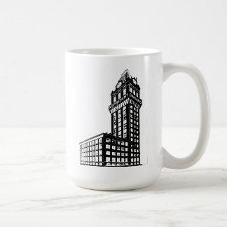 Represent Oakland Tribune Building Classic White Coffee Mug