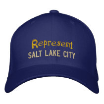 Represent Salt Lake City Cap