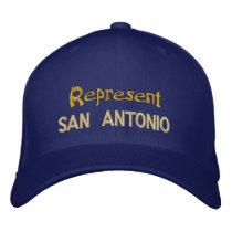 Represent San Antonio Cap