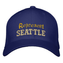 Represent Seattle Cap