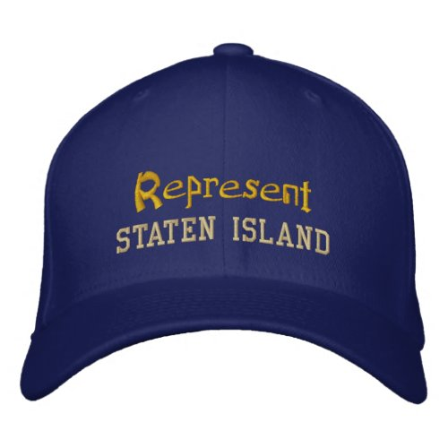 Represent Staten Island Cap