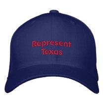 Represent Texas Cap
