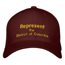 Represent the District of Columbia Cap