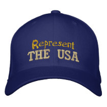 Represent the USA Cap