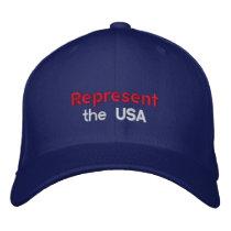 Represent the USA Cap