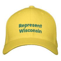 Represent Wisconsin Cap