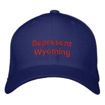 Represent Wyoming Cap
