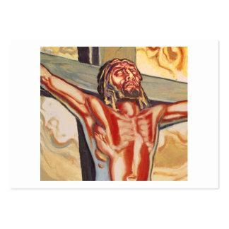 Representación de jesús tarjetas de visita