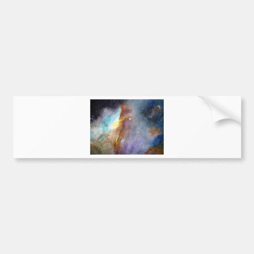 Representación de la acuarela de una de las grande etiqueta de parachoque