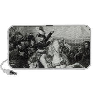 Representación de Napoleon como el héroe conquista Laptop Altavoz