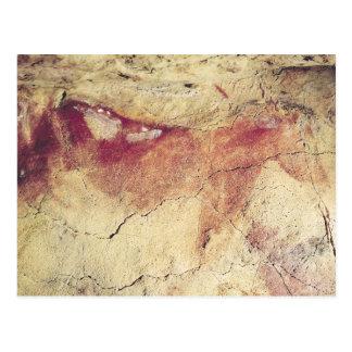 Representación de un animal, c.15000 A.C. Tarjetas Postales