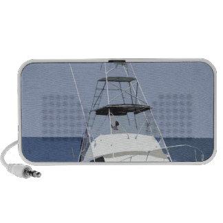 Representación del barco de pesca iPod altavoz