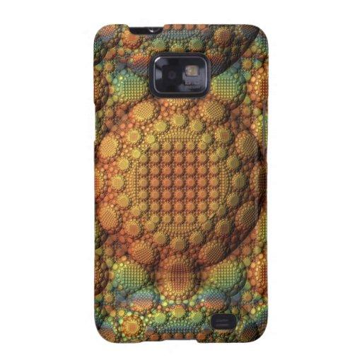 representación del fractal 3D Samsung Galaxy SII Carcasa