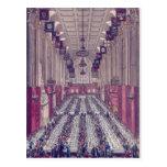 Representación del interior del consistorio tarjetas postales