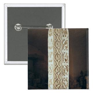Representación del pilar de Calendrier de Saison', Pin Cuadrado