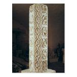 Representación del pilar de Calendrier de Saison', Postal