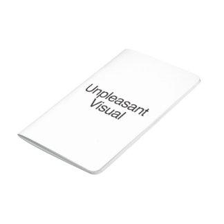 Representación visual desagradable cuaderno