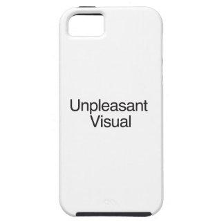 Representación visual desagradable iPhone 5 funda