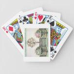 Representaciones típicas de las esferas artificial cartas de juego