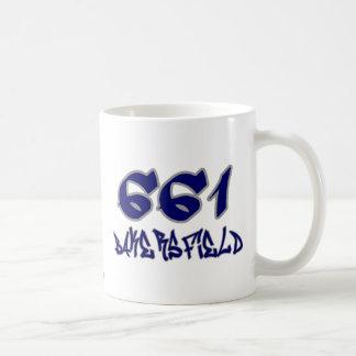 Representante Bakersfield (661) Taza De Café