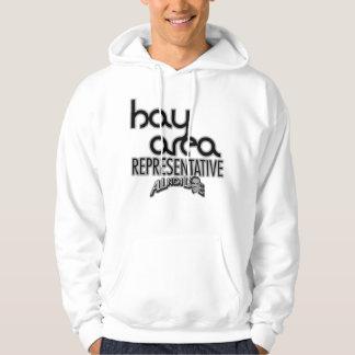 Representante del área de la bahía sudaderas con capucha