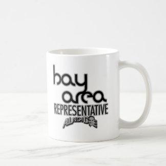 Representante del área de la bahía taza clásica