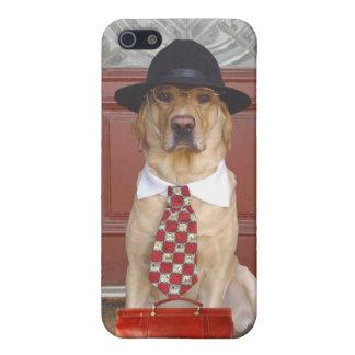 Representante del negocio del mascota iPhone 5 carcasa