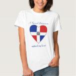 Representante dominicano. Camiseta del amor de la Poleras