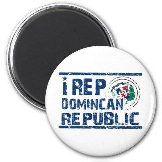 Representante I la República Dominicana Imán Redondo 5 Cm