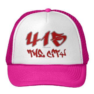 Representante la ciudad (415) gorro de camionero