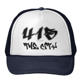 Representante la ciudad (415) gorros bordados