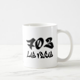 Representante Las Vegas (702) Taza Básica Blanca