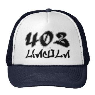 Representante Lincoln (402) Gorra