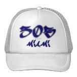 Representante Miami (305) Gorras