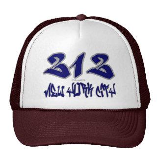 Representante New York City (212) Gorras De Camionero