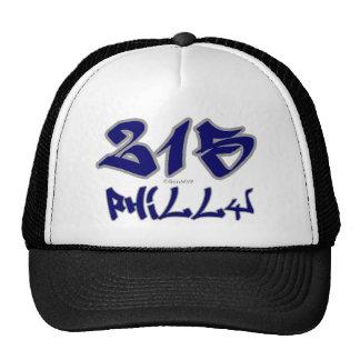 Representante Philly (215) Gorras