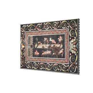 Representation of a mosaic canvas prints