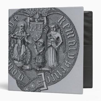 Representation of Edward the Black Prince 3 Ring Binder
