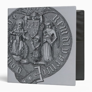 Representation of Edward the Black Prince 3 Ring Binders