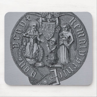 Representation of Edward the Black Prince Mouse Pad
