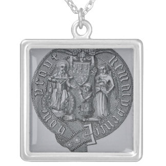 Representation of Edward the Black Prince Silver Plated Necklace