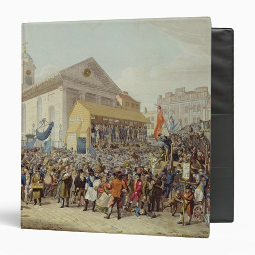 Representation of the Election of Members Binder