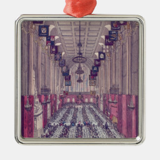 Representation of the Interior of Guildhall Metal Ornament