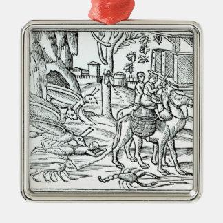 Representation of the Plague, 1572 Metal Ornament